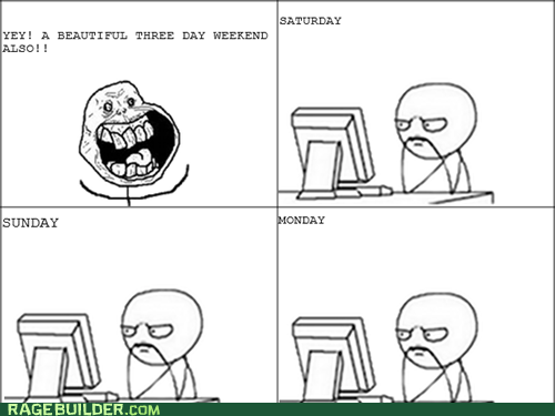 3-Day Weekends