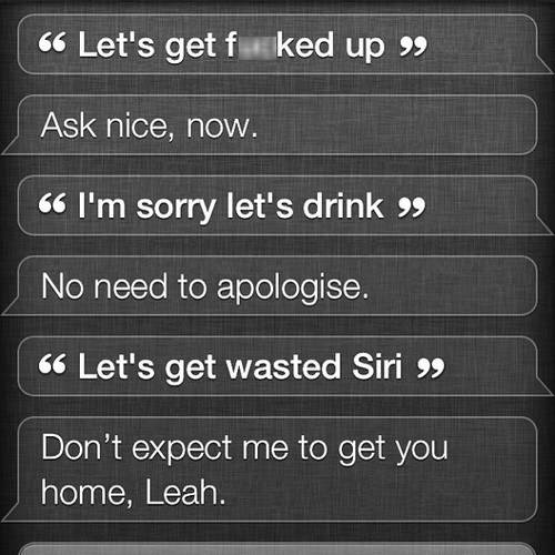 Siri Isn't Cleaning Up After You This Time
