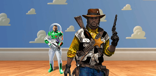 toy story,mass effect,crossover,red dead redemption