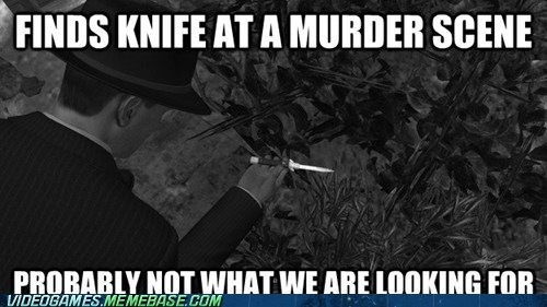 wtf,knife,video game logic,l-a-noire