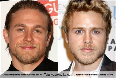 Charlie Hunnam's Flesh-Colored Beard Totally Looks Like Spencer Pratt's Flesh-Colored Beard