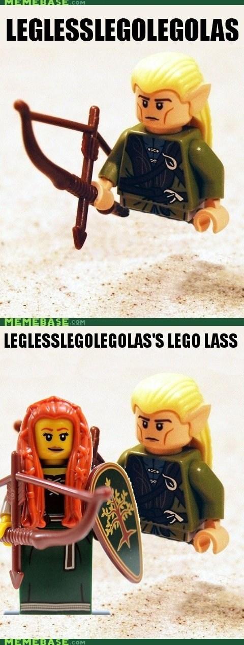 Legless Lego Legolass's Lego Lass.