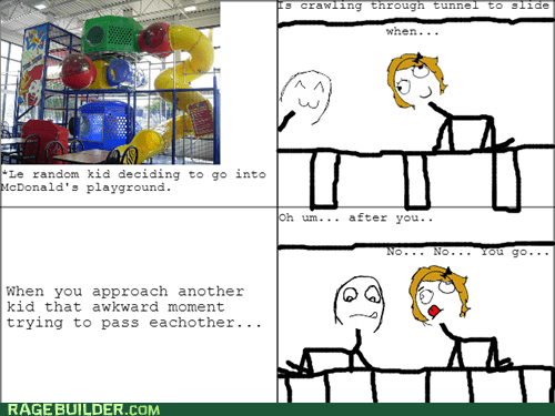 McDonald's Awkward Playground