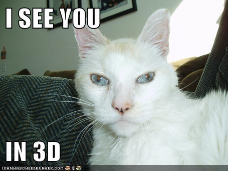 I SEE YOU   IN 3D