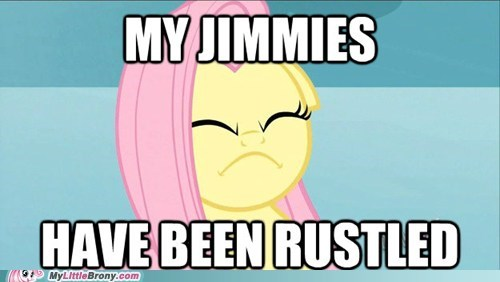 Fluttershy's Jimmies
