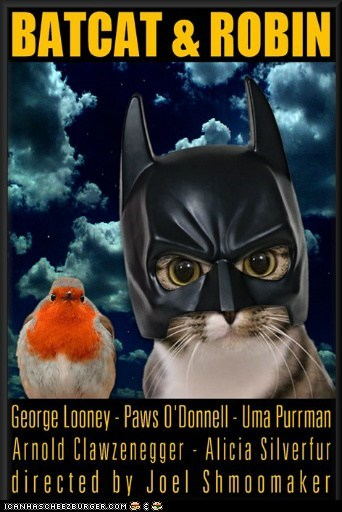 BATCAT & ROBIN - Movie Poster