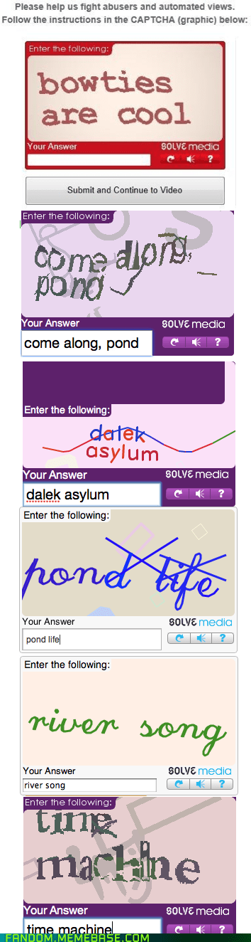 captcha,doctor who,internets