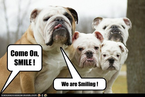 We are Smiling  :-)