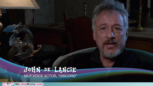 Dat Statue... You Won the World, Mr. De Lancie