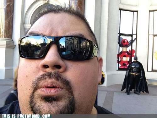 Gabriel Iglesias got bat-bombed
