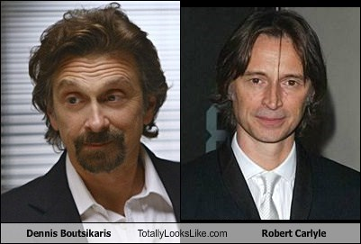 Dennis Boutsikaris Totally Looks Like Robert Carlyle