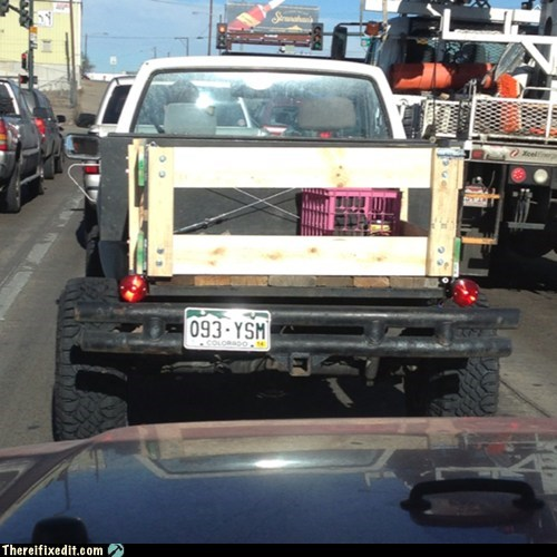 Who Needs a Real Truck Bed Anyway?