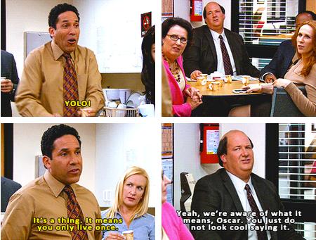 yolo,the office,NBC,TV,funny