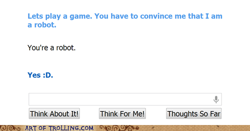 Cleverbot is so Smart
