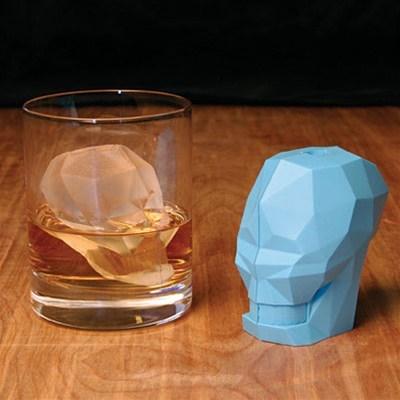 ice cube,alcohol,design,skull