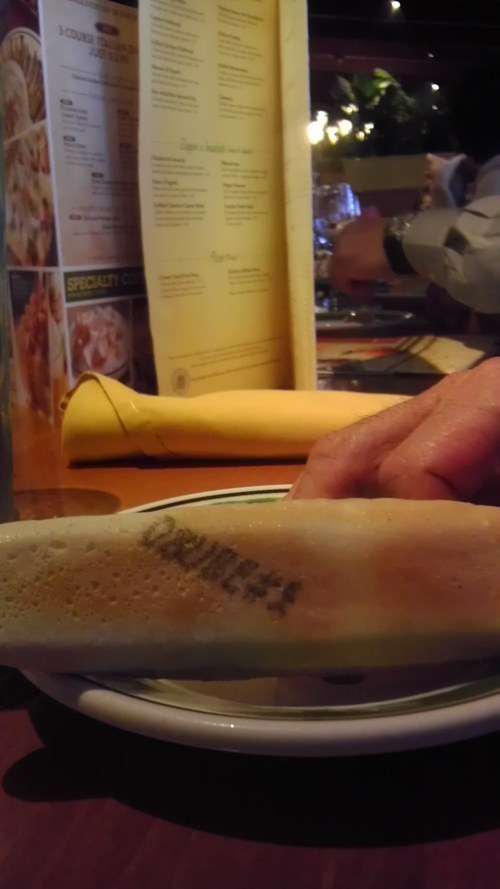 Breadstick FAIL