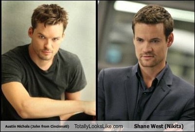 Austin Nichols (John from Cincinnati) Totally Looks Like Shane West (Nikita)
