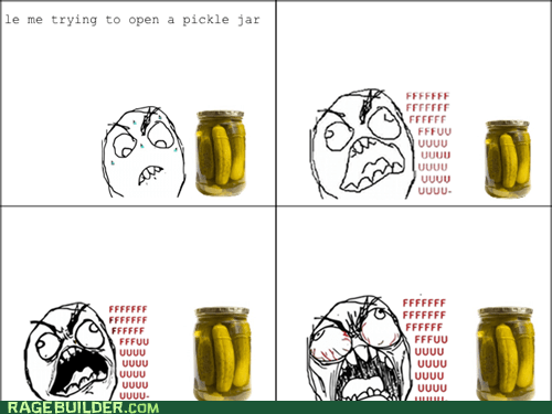 pickle rage