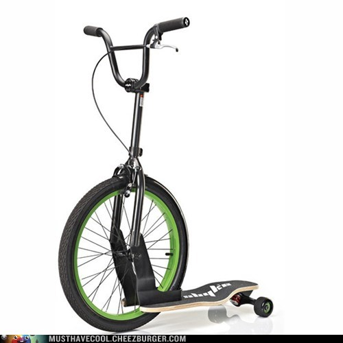 Because You Can't Balance on a Unicycle