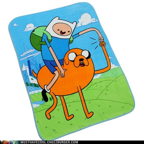 Get Snuggly With Finn and Jake