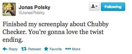 twitter,chubby checker,the twist