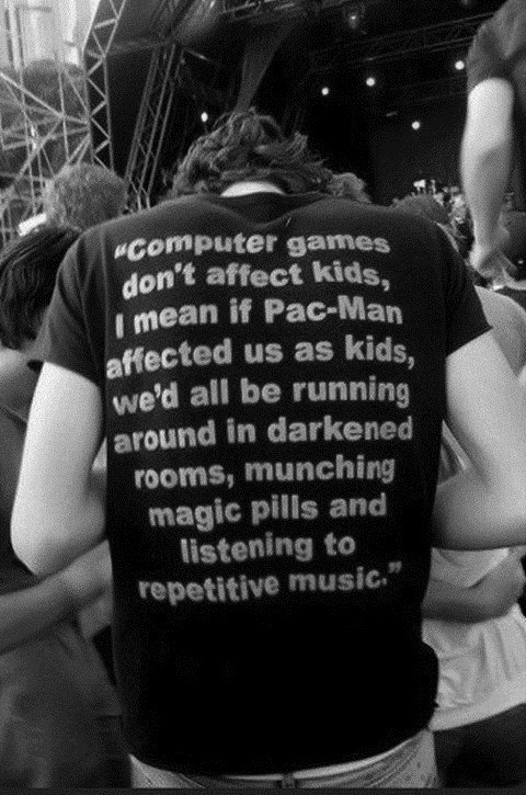 t shirts,pac man,video games,after 12,g rated