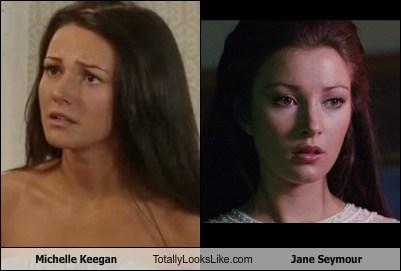 Michelle Keegan Totally Looks Like Jane Seymour