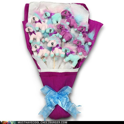 Nothing Says I Love You Like a Bouquet of Unicorns