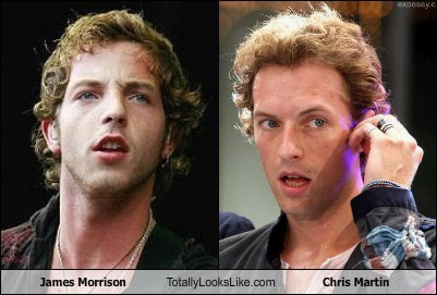 James Morrison Totally Looks Like Chris Martin