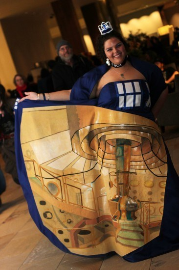 If Style Could Kill: Bigger on the Inside Tardis Dress