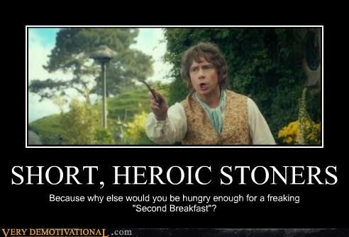 SHORT, HEROIC STONERS