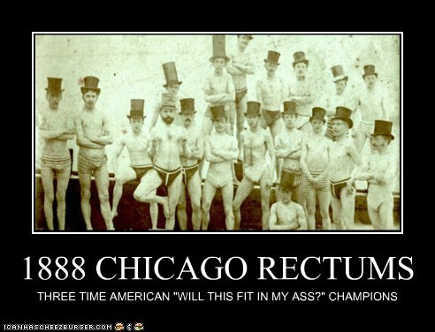 1888 CHICAGO RECTUMS