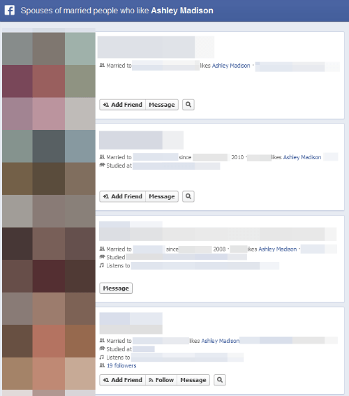 Single Topic Blog of the Day: Actual Facebook Graph Searches