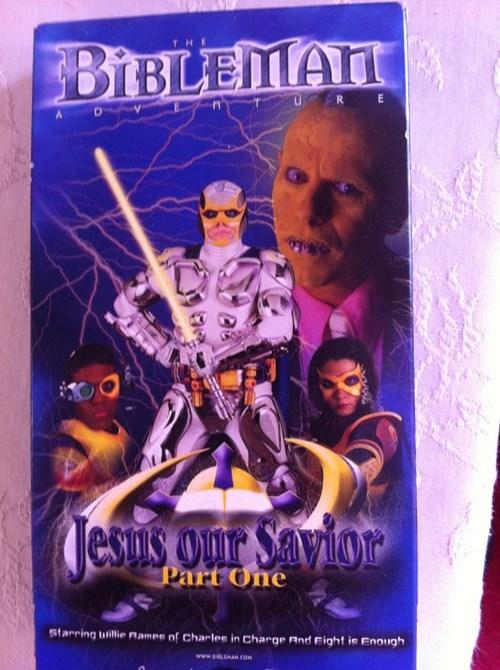 The Bibleman!