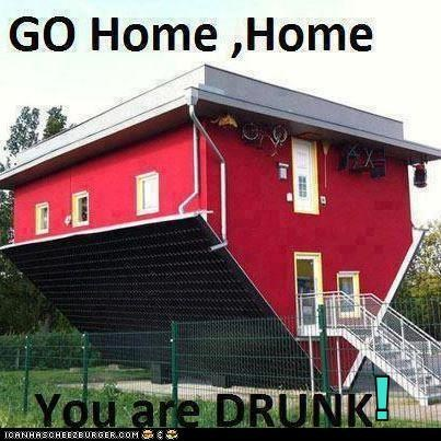 GO Home ,Home You are DRUNK!