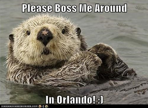 Please Boss Me Around  In Orlando! :)