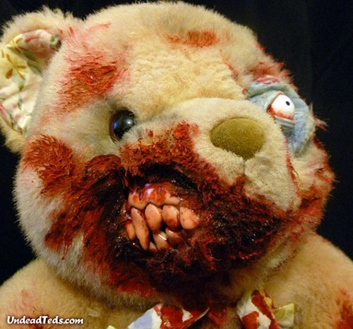 Undead Ted, Such a Romantic Valentine Gift!