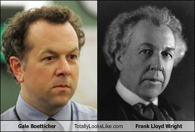 Gale Boetticher Totally Looks Like Frank Lloyd Wright