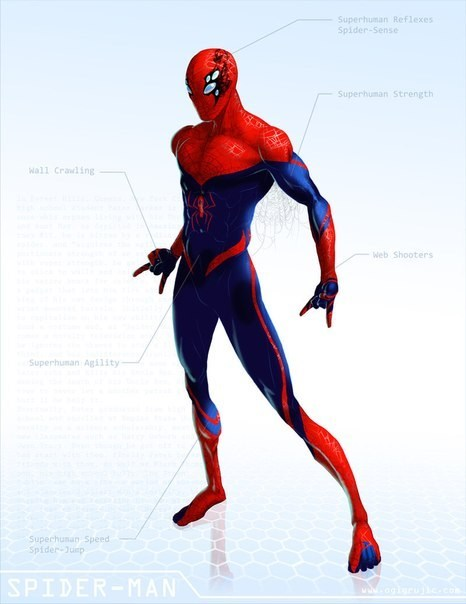 Spider-Man,spectacular,art,redesign