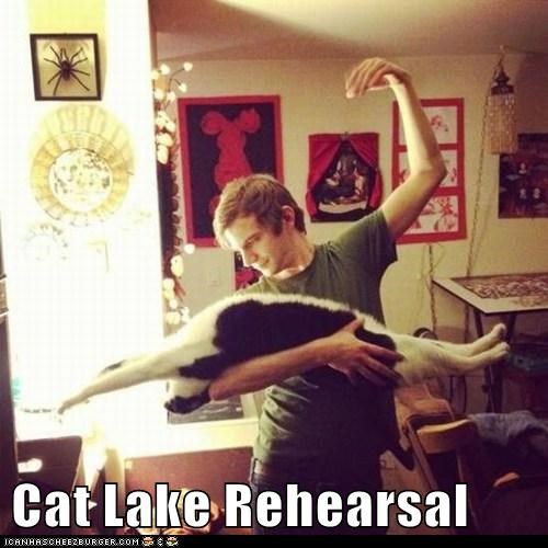 Cat Lake Rehearsal