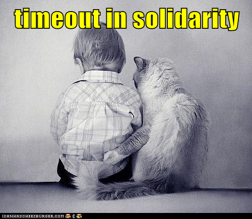 timeout in solidarity