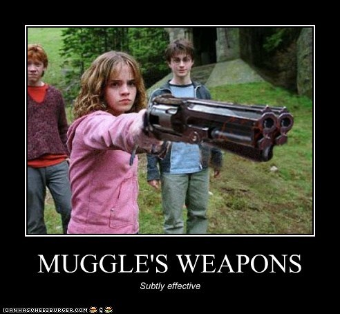 MUGGLE'S WEAPONS