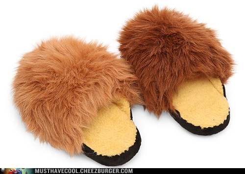 The Trouble With Tribble Slippers is My Cat Keeps Trying to Kill Them
