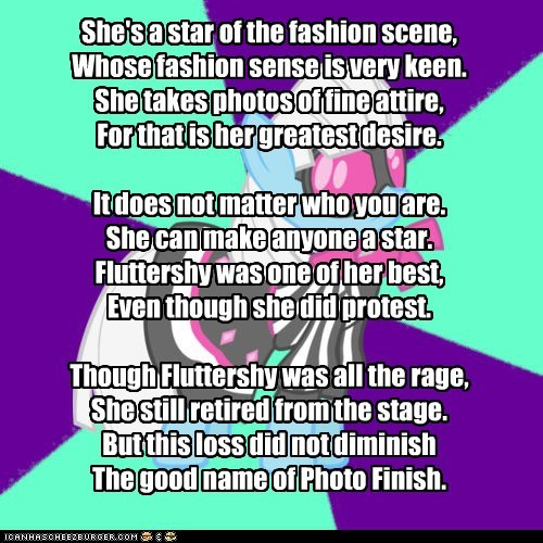 My Little Poetry: Photo Finish