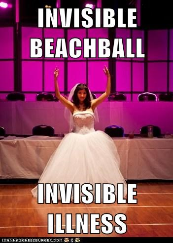 invisible beachball illness meme