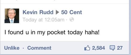 twitter,Kevin Rudd,50 cent