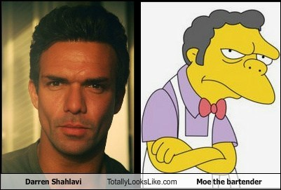 Darren Shahlavi Totally Looks Like Moe the bartender