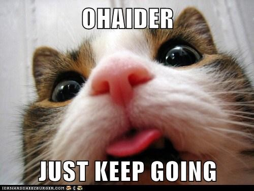 OHAIDER  JUST KEEP GOING
