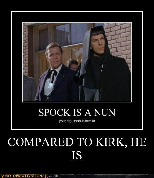 Spock Is a Bit of a Prude