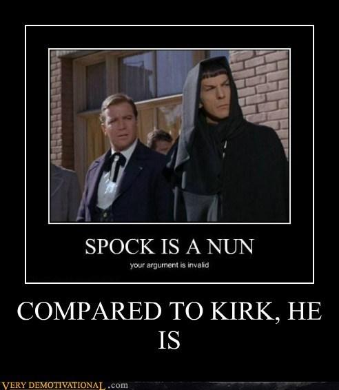 Captain Kirk,Spock,Star Trek